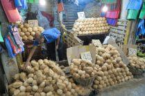 Marchand de noix de coco - Marché de Kandy