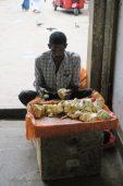 Vendeur de fruits - Marché de Kandy