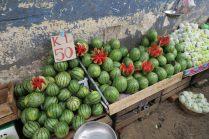 Étalage de fruits - Marché de Kandy