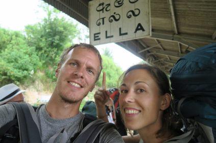Ayé on est arrivés à Ella !