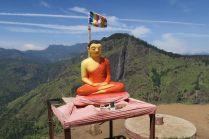 Bouddha en haut du Little Adam's Peak