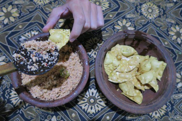 Sambol de noix de coco...un délice !