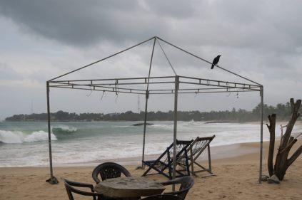 Mobilier d'un bar de plage