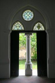 Porte de la All Saints Church