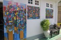 Atelier d'artiste dans les ruelles