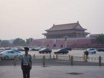 Porte de la paix céleste, au nord de la place Tiananmen