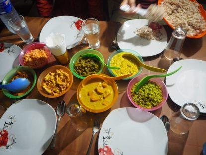 Rice and Curry à l'auberge