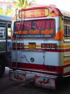 Un des nombreux bus locaux