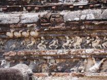 """Détails des murs de la """"salle du conseil"""""""
