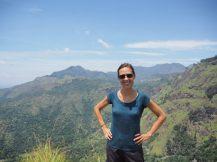 Et voilà, on est en haut du Little Adam's Peak !
