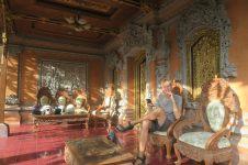 Décoration d'une maison dans un complexe traditionnel balinais