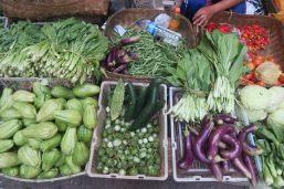 Légumes indonesiens - Marché de Ubud