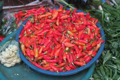 Piment / Chili ! - Marché de Ubud