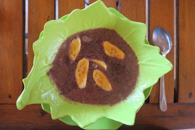 Bubur injin (riz noir au lait de coco)