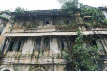 Facade décrépie à Yangon