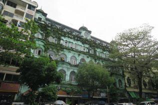 Batiment colonial à Yangon