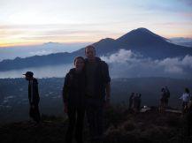 Elise et Julien (et de nombreux touristes) au sommet
