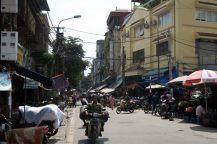 Dans les rues de Hanoï
