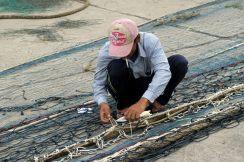 Réparation des filets