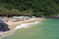 Une des trois plages de Cat Ba