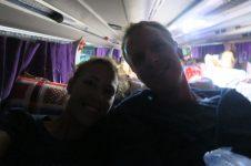 Dans le bus vers Ha Giang