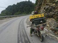 Tout peut être transporté à deux roues...