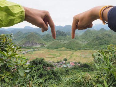 """Les """"twin mountains"""" (ou """"boobs moutains""""), on vous pointe les tétons ;)"""