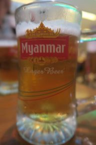 Bière Myanmar au fût