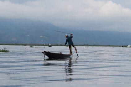 Pécheur au lac Inle