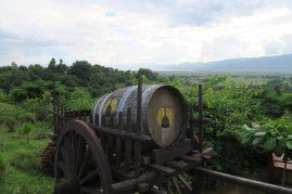 Vue sur le lac depuis la Red Mountain Winery
