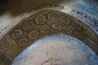 Détail de fresques à l'intérieur d'un temple