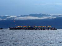 Barge du festival Phaung Daw Oo