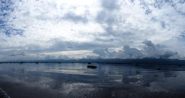 Vue sur le lac Inle