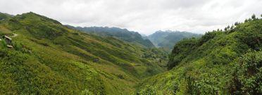Panorama des montagnes