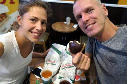 """Craquage complet sur des Donuts """"Krispy Kreme"""" mais qui n'ont pas assumé leur réputation"""