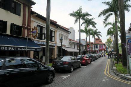 Petite ruelle dans Singapour... Ca change de Kuala Lumpur !