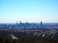 Brisbane depuis le mont Coot-Tha