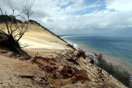 La dune qui se jette dans l'océan