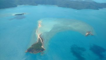 Dans l'archipel des Whitsundays