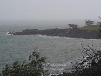 Coral Cove sous la pluie