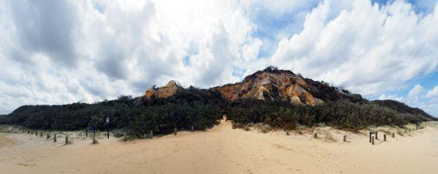 "Panorama des ""pinnacles"""