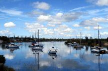 Le port tranquille de Yamba