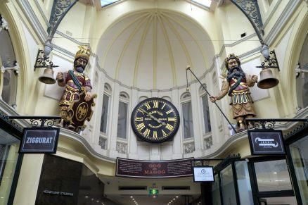 """A l'intérieur de la """"royal gallery"""""""