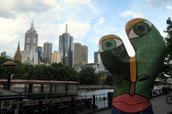 Skyline et Street art à Melbourne