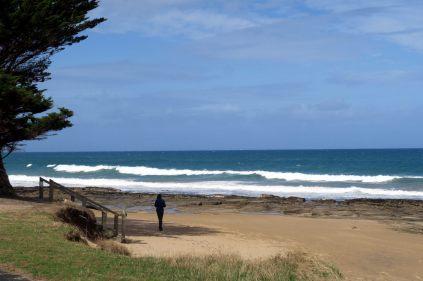 La plage de Lorne