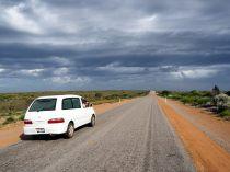 Variété de paysages et de météo sur la route