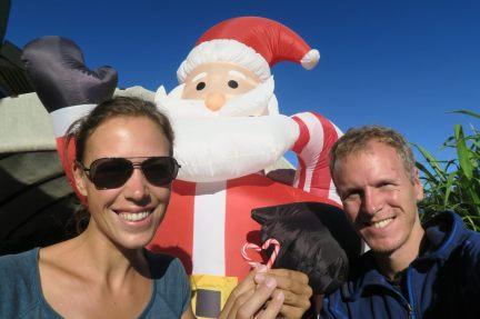 Avec le Père Noël