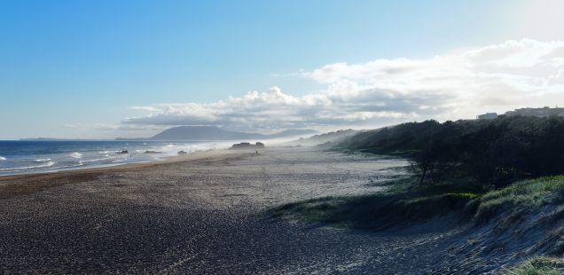 Panorama de la plage à Port Macquarie