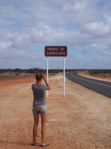 Nous retrouvons le tropique du Capricorne !