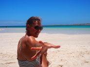 La plage de Coral Bay